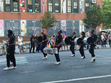 brooklyn pride drummers